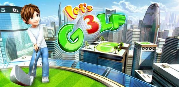 きれいな画面で本格ゴルフが楽しめるアプリ『レッツ!ゴルフ』