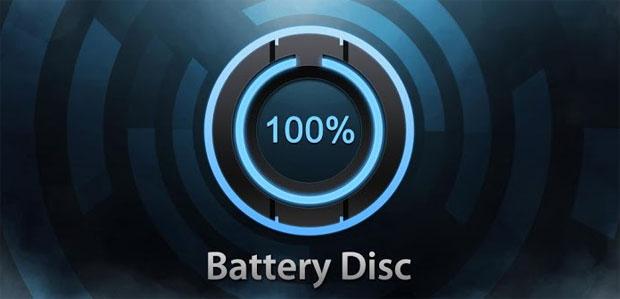 電池の残量を美しいウィジェットでお知らせしてくれるアプリ『美しいバッテリーディスク』