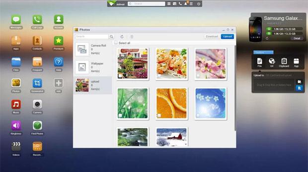 パソコンとスマートフォンを連携してブラウザからファイルの管理などができるようになるアプリ『AirDroid』