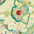 散歩やウォーキングのお供に♪江戸時代と現代の地図を重ねて見ることができるアプリ『今昔散歩』